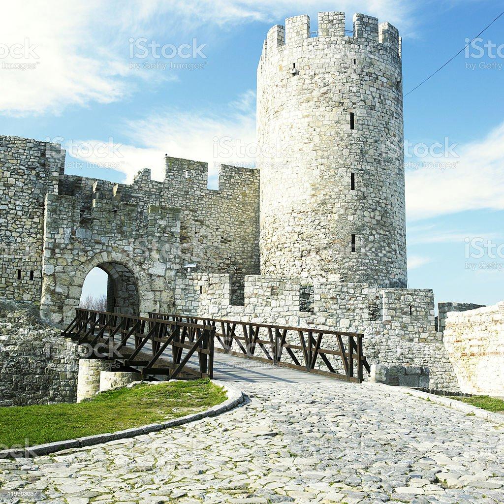 fortress Kalemegdan stock photo