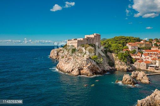 Fortress Lovrijenac in Dubrovnik