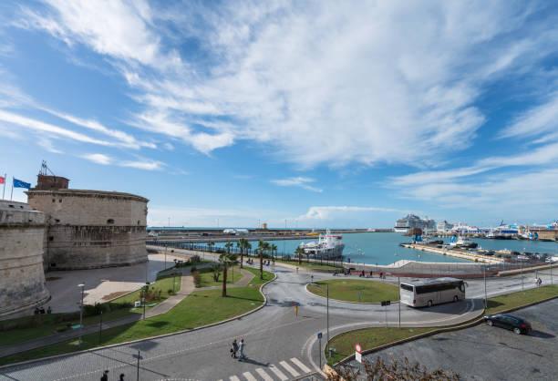 Fortress of Civitavecchia Fortezza Michelangelo stock photo