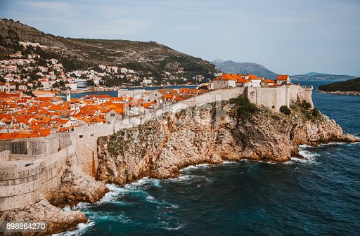 istock Fortress of Dubrovnic on the Adriatic 898864270