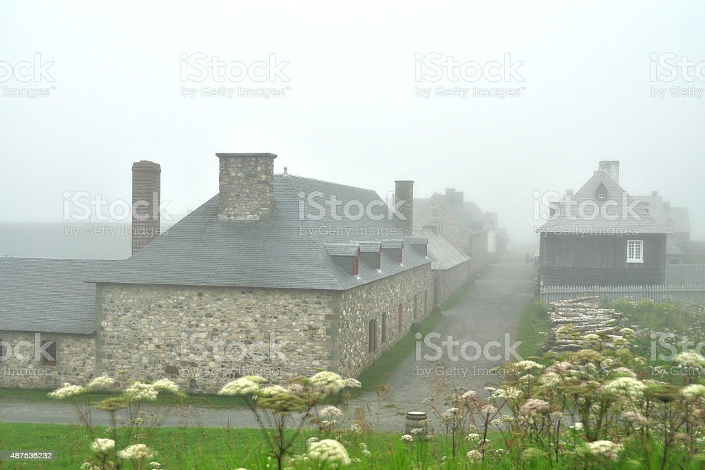 Fortress of Louisbourg National Historic stock photo