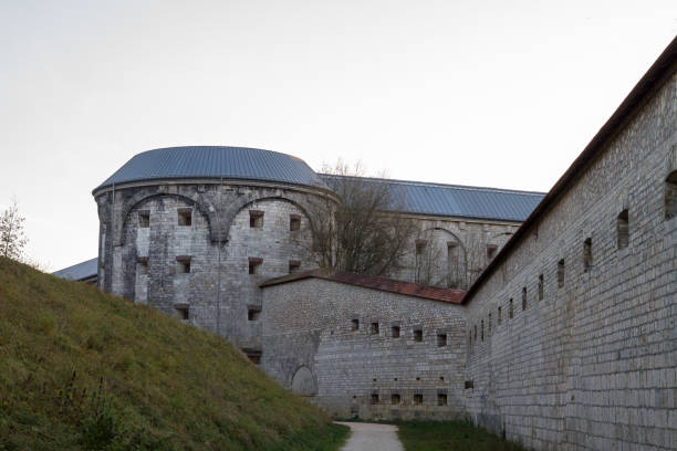 Fortress of Ulm, Danube; to protect the City against Napoleon Fortress of Ulm, Danube; to protect the City against Napoleon ulm stock pictures, royalty-free photos & images