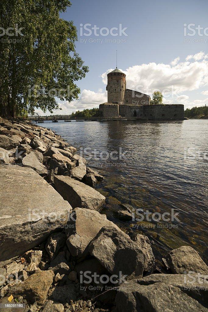 Festung Olavinlinna in der Stadt Savonlinna – Foto
