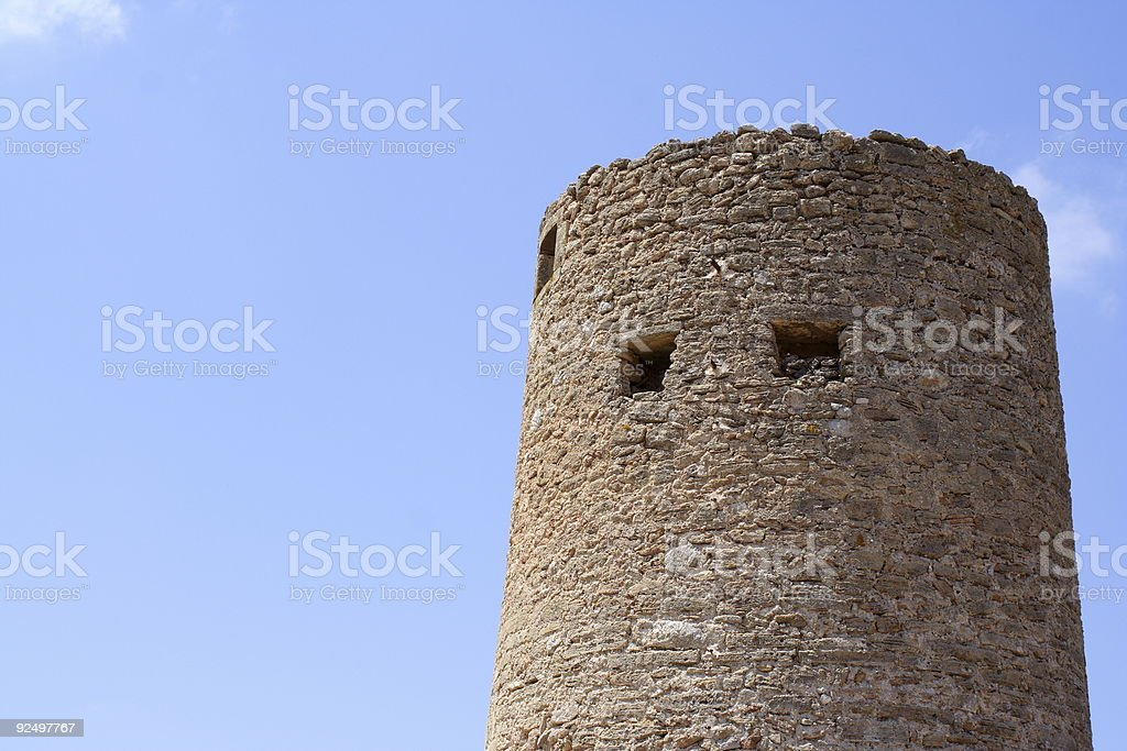 Fortress Tower royalty-free stock photo