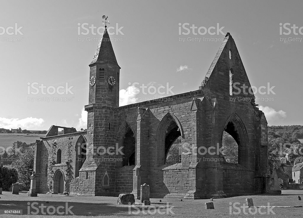 Fortrose Cathedral royalty-free stock photo