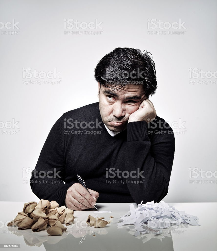 Fortune Cookie Copywriter royalty-free stock photo
