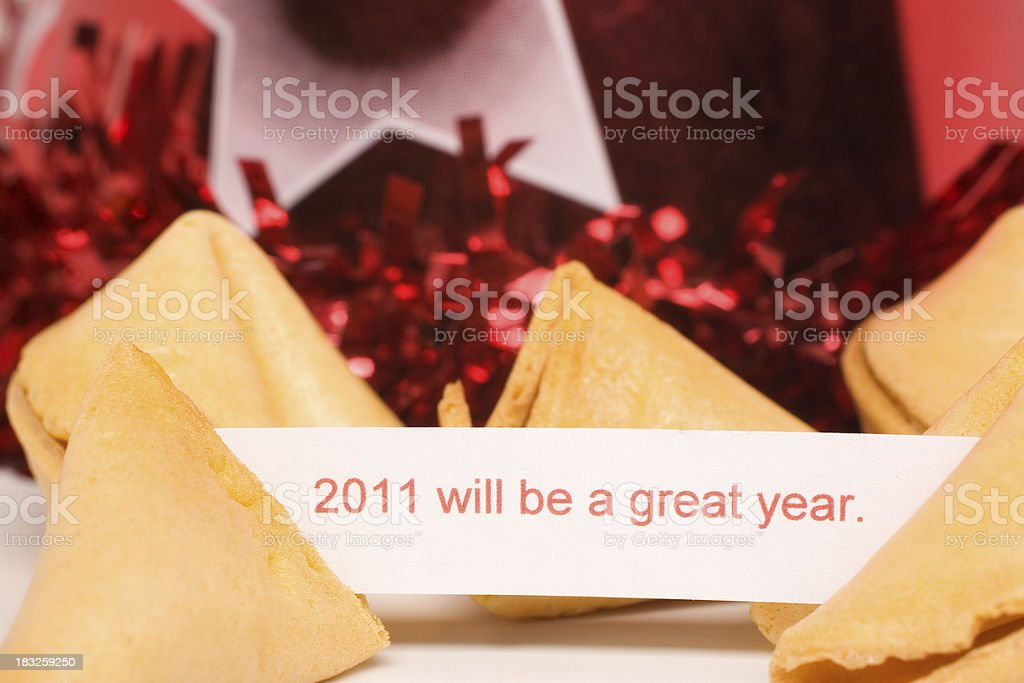 Fortune Cookie Series royalty-free stock photo