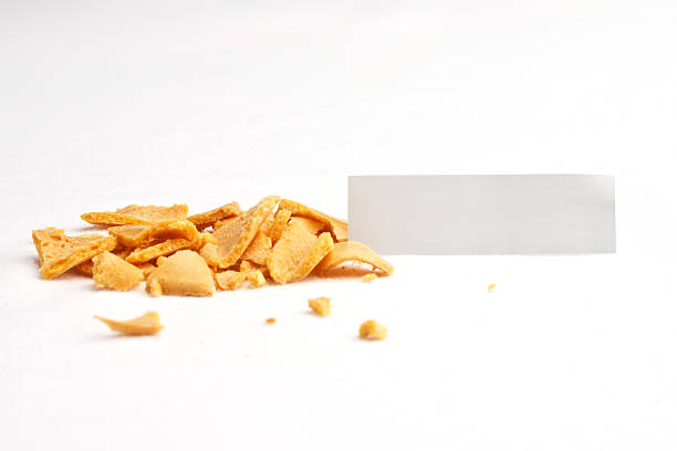 Fortune Cookie Smashed Slip Front stock photo