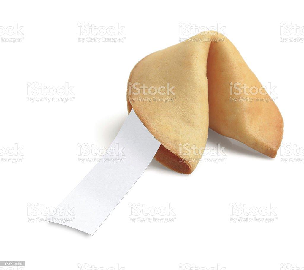 Fortune Cookie XXXLarge royalty-free stock photo