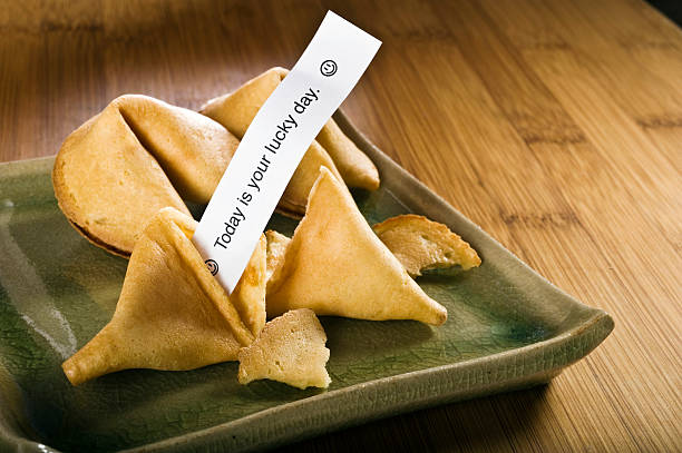 Fortune Cookies stock photo