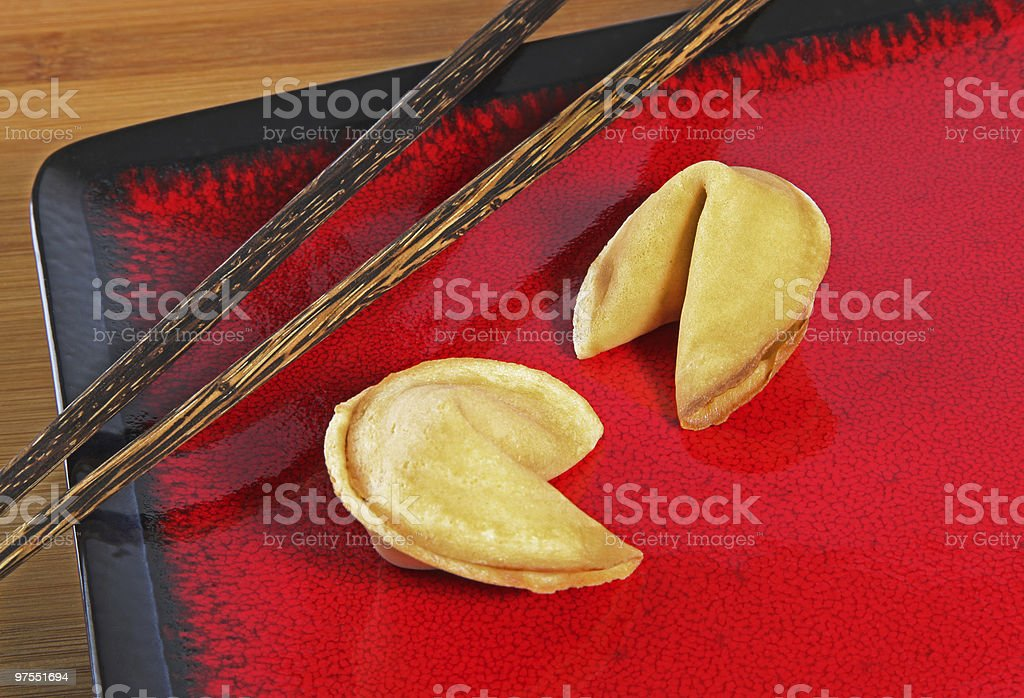 Fortune les Cookies photo libre de droits