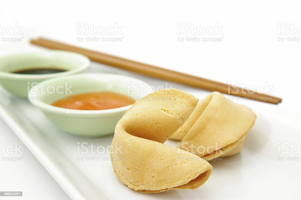 Fortune Cookies royalty free stockfoto