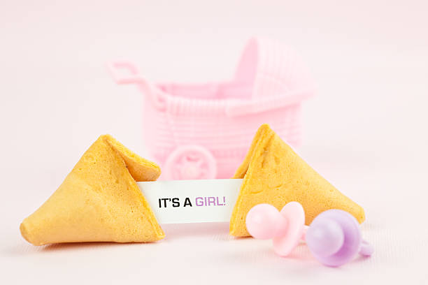 fortune series it's a girl! - its a girl stock photos and pictures