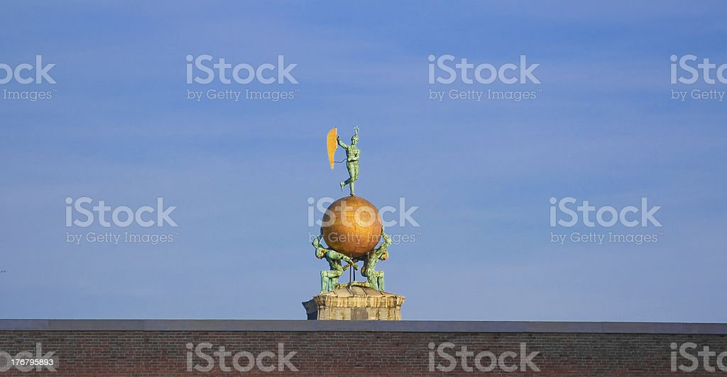 Fortune statue stock photo