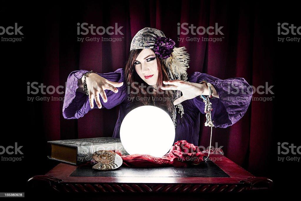 Fortune Teller stock photo