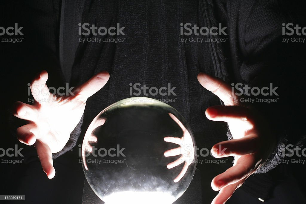Fortune Teller stock photo