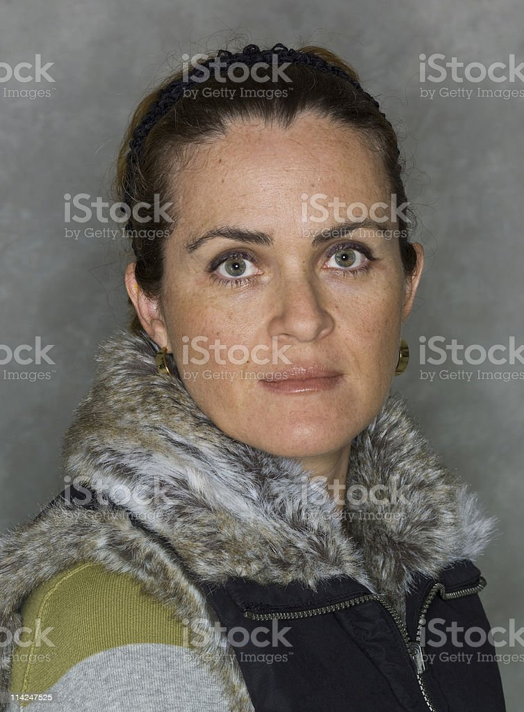 forty something no make up royalty-free stock photo