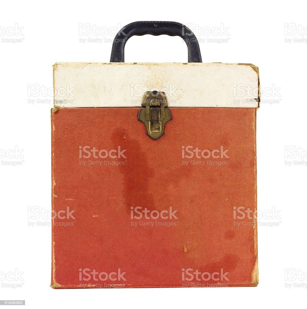 Forty-Fives Case stock photo