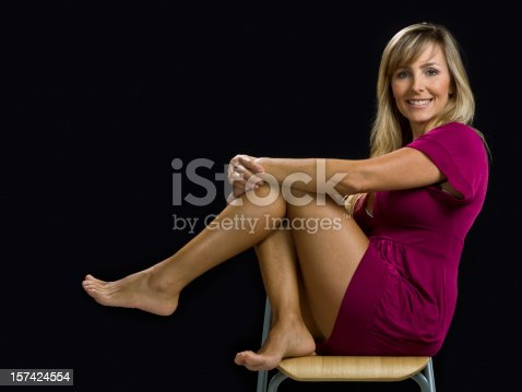 istock Forty-something attractive female 157424554