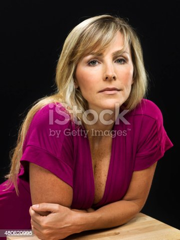 Fortysomething Beautiful Woman Stock Photo amp More Pictures