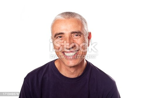 istock Forty-something man with bright smile 171349376
