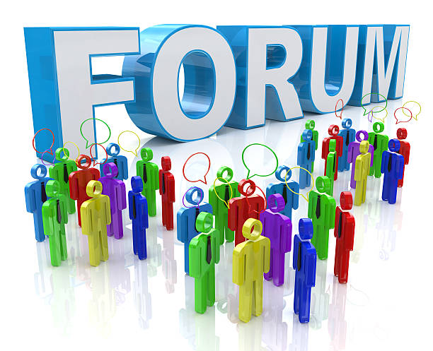 Forum Group Discussion Forum Group Discussion in the design of information related to communication roman forum stock pictures, royalty-free photos & images