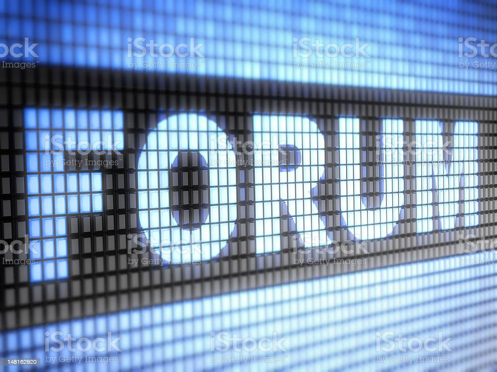 Forum royalty-free stock photo