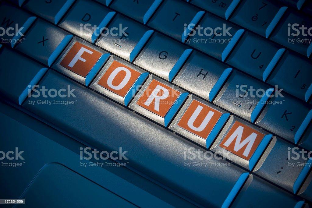 Forum foto de stock libre de derechos