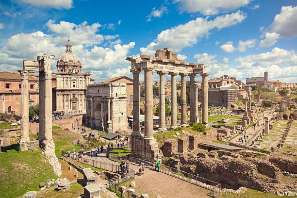 Forum Romanum, Rom – Foto