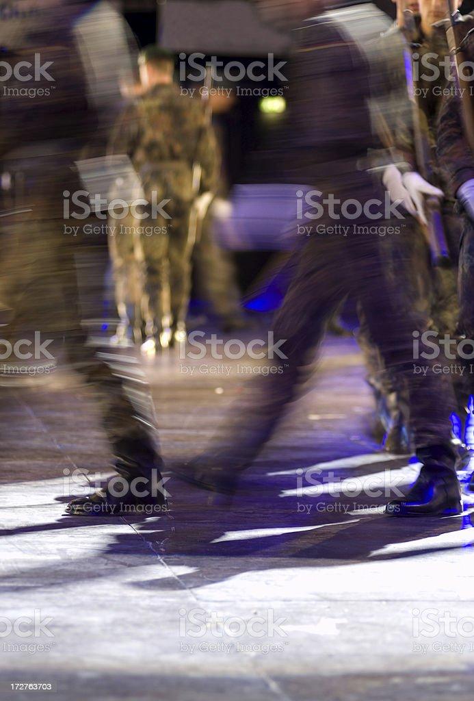 Forwaaaard march !!! royalty-free stock photo