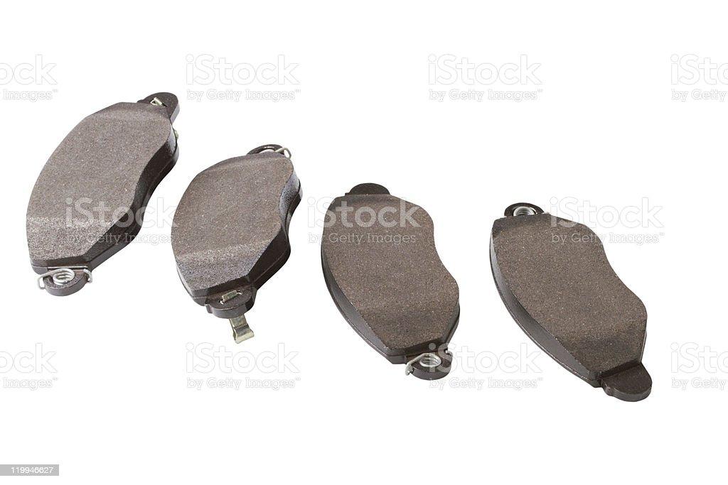 forward brake blocks royalty-free stock photo