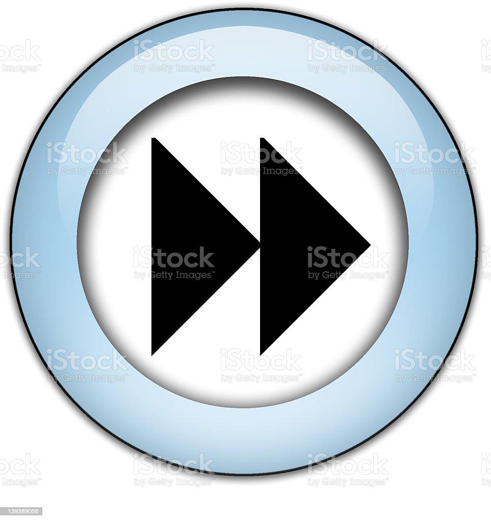 Forward or Next Button stock photo