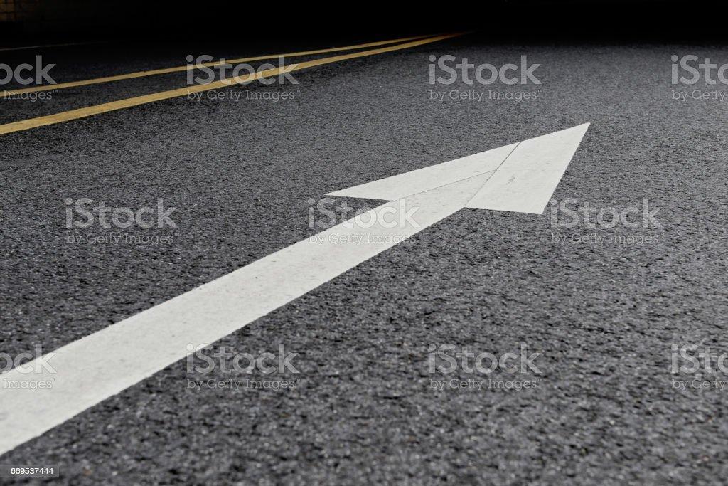 Foto De Forward Road Sign Background Asphalt Road Background E Mais Fotos De Stock De Branco Istock