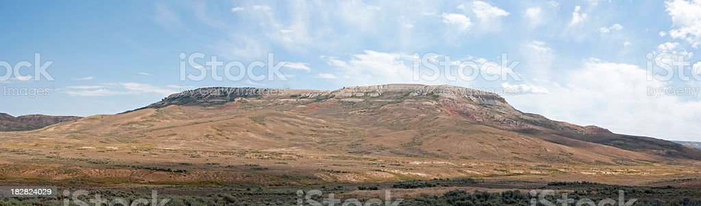 Fossil Butte, Wyoming stock photo