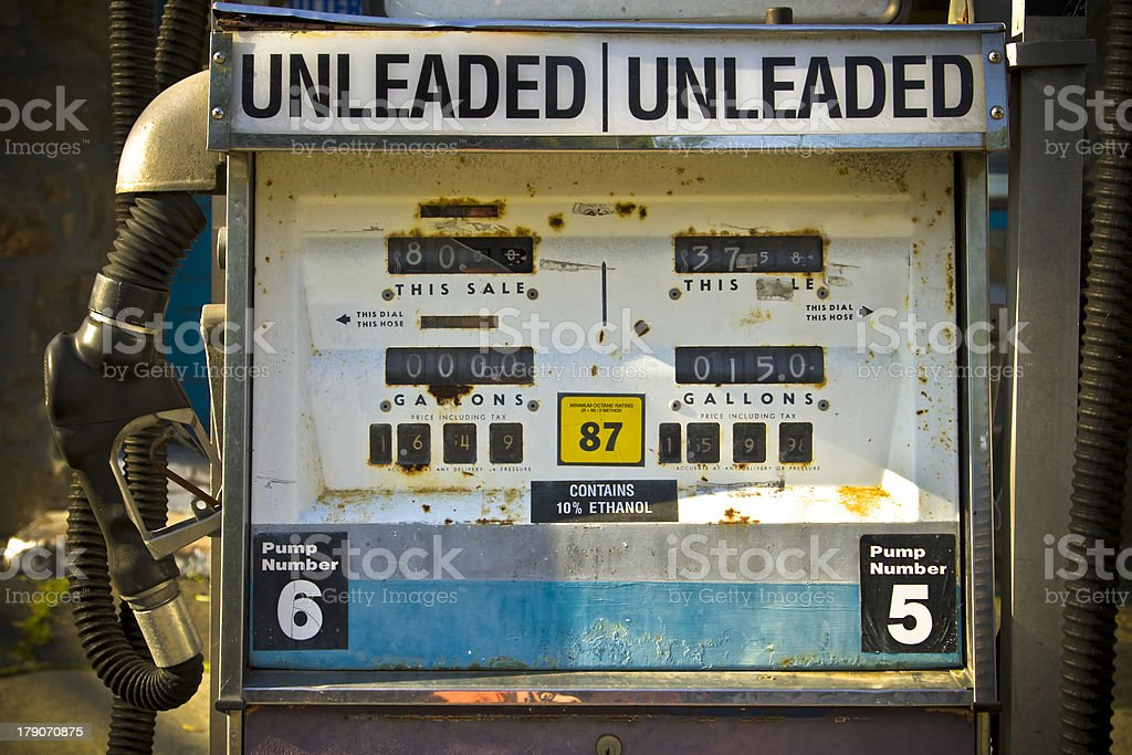Fossil Fuel Pump royalty-free stock photo