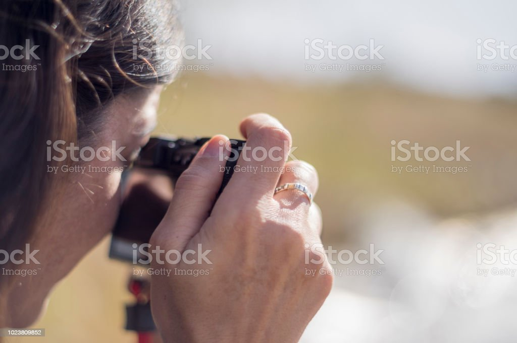 Calle fotógrafo - foto de stock