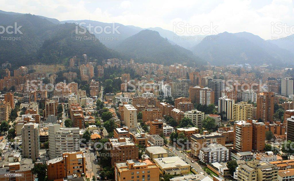 Fotografía Aérea Bogota stock photo