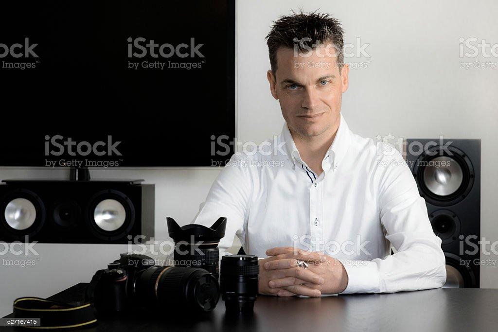 Fotografo stock photo