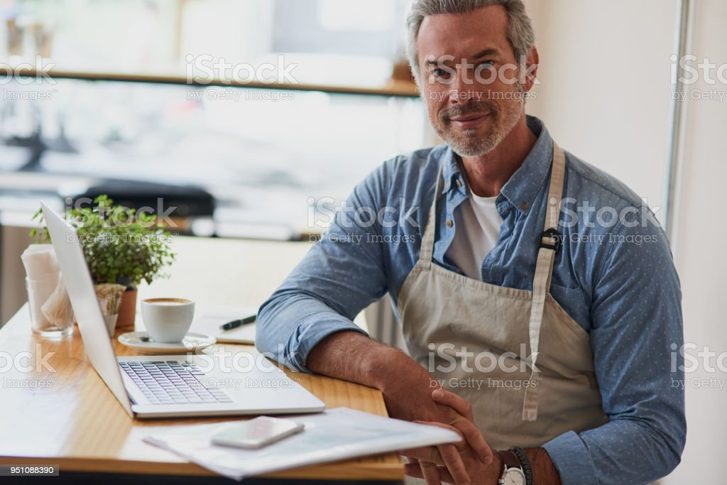 I found success in coffee stock photo