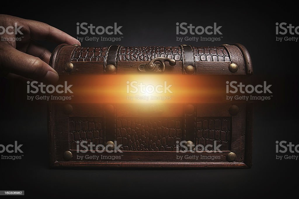 found treasure royalty-free stock photo