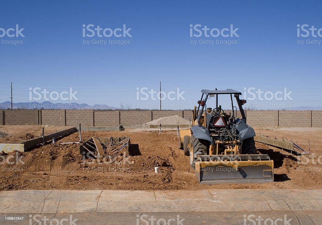 foundation beginnings stock photo