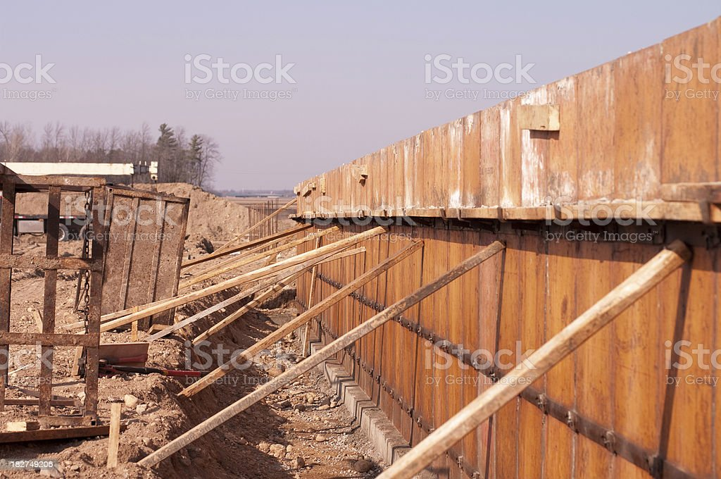 Foundation Forms royalty-free stock photo