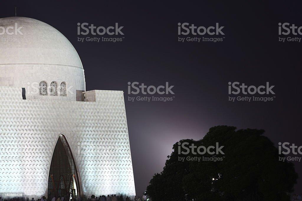 Founder of Pakistan, Jinnah stock photo