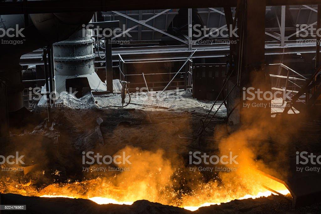 Foundry stock photo