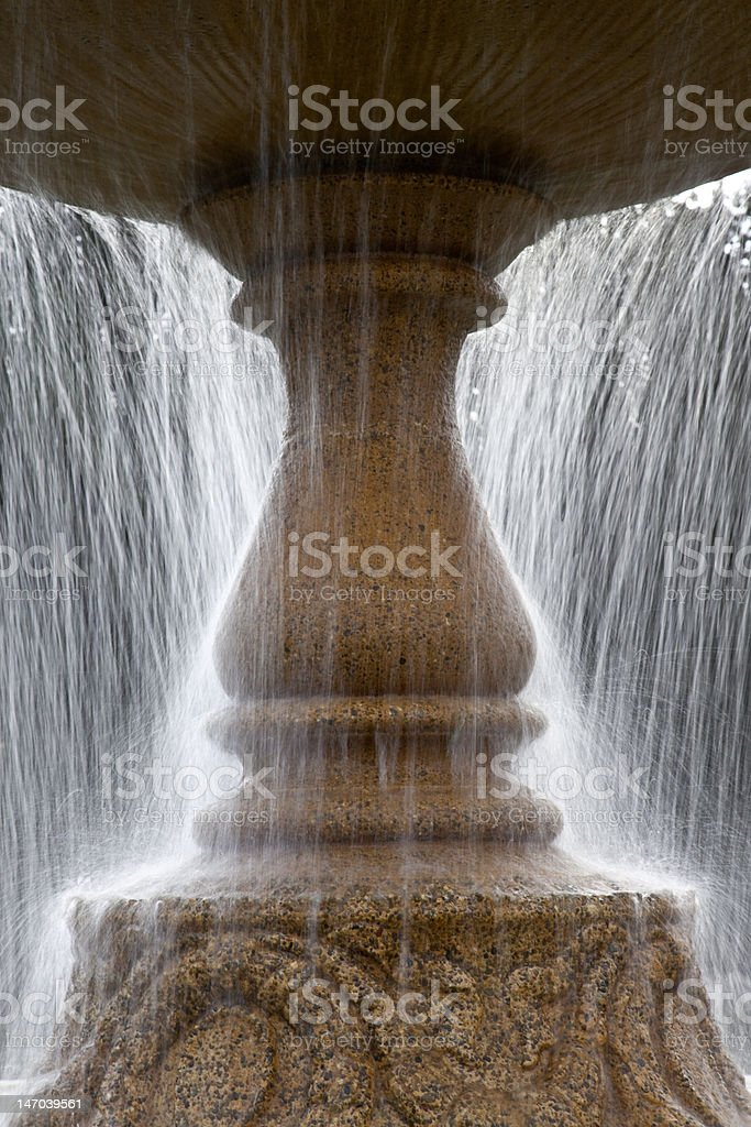 Fountain Abstract royalty-free stock photo