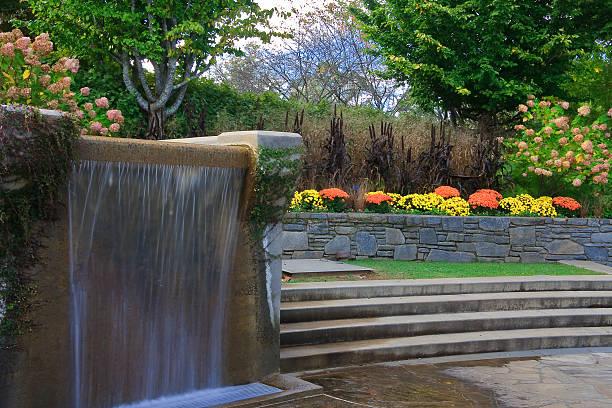 Fountain at North Carolina Arboretum
