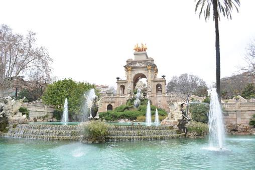Fountain at Parc de la Ciutadella, Barcelona
