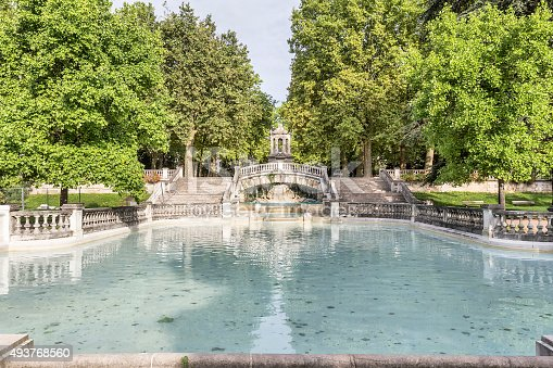 Fountain Darcy. Dijon, Burgundy, France