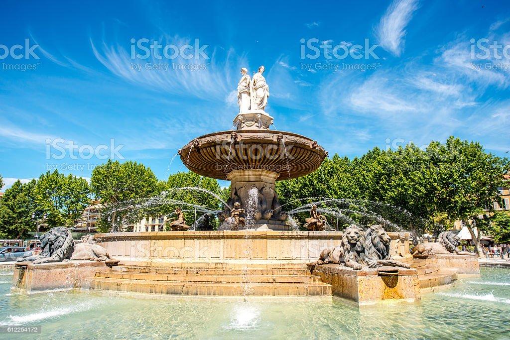 Fontaine à Aix-en-Provence - Photo