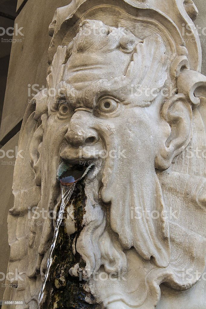 Fountain in Florence royalty-free stock photo
